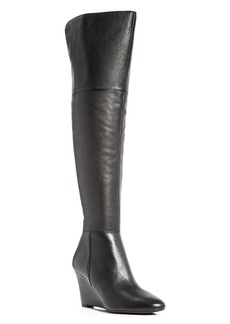 Via Spiga Kennedy Over The Knee Wedge Boots