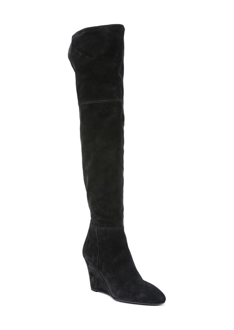 Via Spiga 'Kennedy' Wedge Over the Knee Boot (Women)
