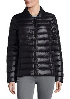 Via Spiga Packable Down Puffer Jacket
