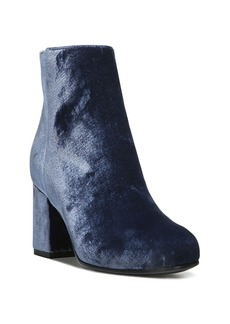 Via Spiga Maury Velvet Block Heel Booties - 100% Exclusive