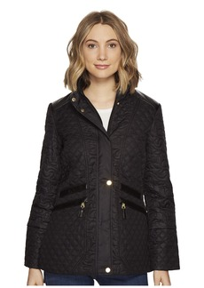 Via Spiga Mix Quilted Coastal Coat