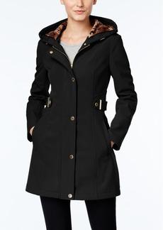 Via Spiga Petite Hooded Raincoat