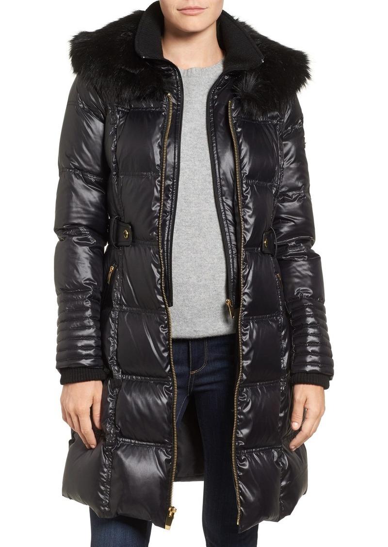 Via Spiga Via Spiga Quilted Coat with Faux Fur Trim | Outerwear ... : via spiga quilted coat - Adamdwight.com
