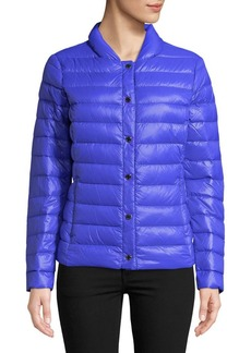 Via Spiga Quilted Packable Down Coat