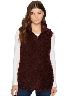 Via Spiga Reversible Curly Faux-Fur Vest