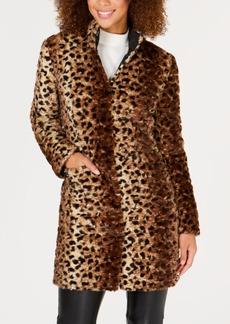 Via Spiga Reversible Faux-Fur Coat