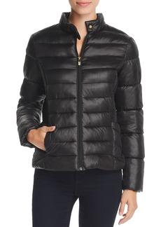 Via Spiga Short Packable Puffer Coat
