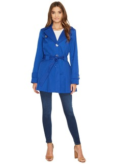 Via Spiga Spread Collar Spring Coat