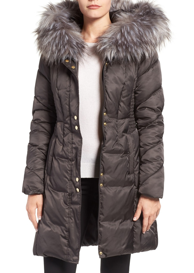 Via Spiga Via Spiga Water Repellent Quilted Puffer Coat