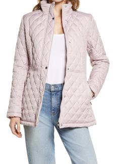 Via Spiga Water Resistant Quilted Jacket