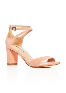 Via Spiga Wendi Crisscross Ankle Strap High Heel Sandals