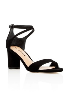 Via Spiga Wendi Crisscross Ankle Strap High Heel Sandals