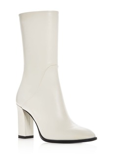 Via Spiga Women's Adrinna Leather High Heel Boots