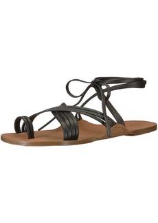 Via Spiga Women's Allegra Ankle Wrap Fisherman Sandal  9 Medium US