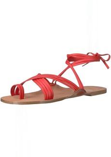 Via Spiga Women's Allegra Ankle Wrap Sandal   M US