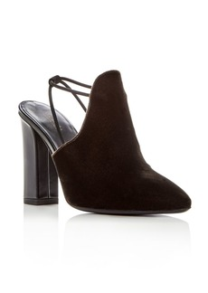 Via Spiga Women's Arina Velvet High Heel Mules