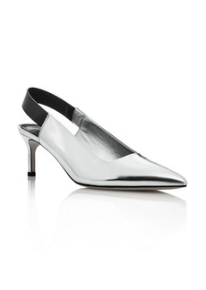 Via Spiga Women's Blake Leather Pointed Toe Slingback Pumps - 100% Exclusive
