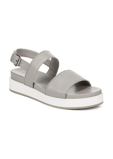 Via Spiga Women's Davi Leather Platform Sandals