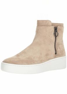 Via Spiga Women's Easton Side Zip MID HIGH Sneaker   M US