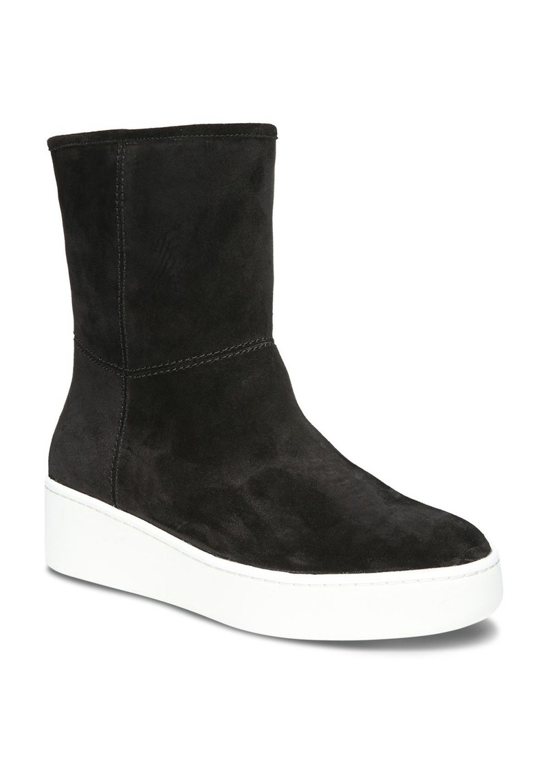 e5526460972c2c Via Spiga Via Spiga Women s Elona Suede   Fur Platform Sneaker Boots ...