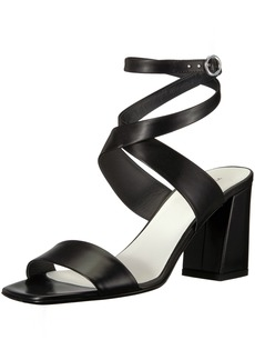 Via Spiga Women's Evelia Ankle Wrap Heeled Sandal  6 Medium US