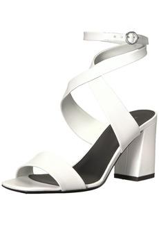 Via Spiga Women's EVELIA Ankle WRAP Sandal Heeled  9 Medium US