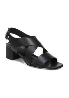 Via Spiga Women's Fallen Block Heel Sandals
