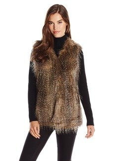 Via Spiga Women's Collarless Vest Feathered Outerwear Outerwear Multi RACC L