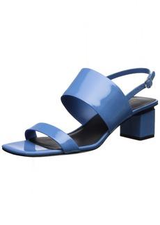 Via Spiga Women's Forte Block Heel Sandal   M US
