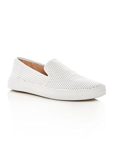 Via Spiga Women's Galea Perforated Leather Slip-On Sneakers