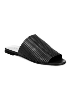 Via Spiga Women's Harlotte Leather Slide Sandals