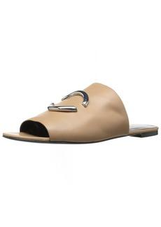 Via Spiga Women's Helena Slide Heeled Sandal  4.5 Medium US