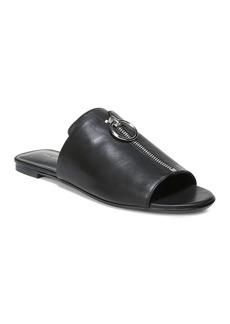 Via Spiga Women's Hope Leather Slide Sandals