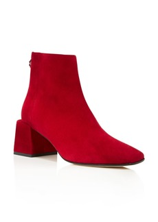 Via Spiga Women's Lara Suede Booties - 100% Exclusive