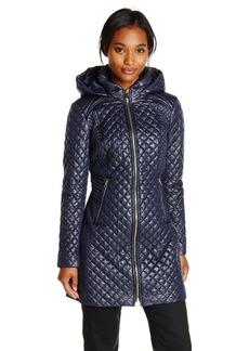 Via Spiga Women's Lightweight Quilted Jacket with Hood