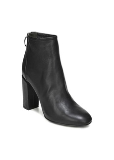 Via Spiga Women's Nadia Leather High Block Heel Booties