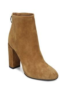 Via Spiga Women's Nadia Suede High Block Heel Booties