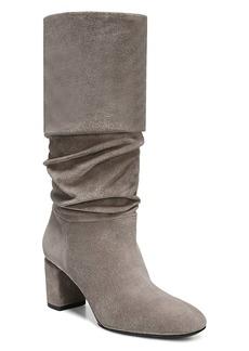 Via Spiga Women's Naren Suede Tall Slouch Boots