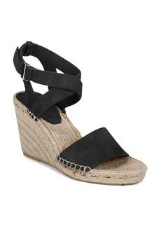 Via Spiga Women's Nevada Suede Platform Wedge Espadrille Sandals