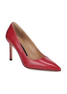Via Spiga Women's Nikole Leather Pointed Toe High-Heel Pumps