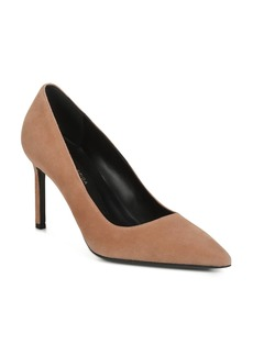 Via Spiga Women's Nikole Suede Pointed Toe High-Heel Pumps