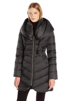Via Spiga Women's Oversized Hood Down Coat