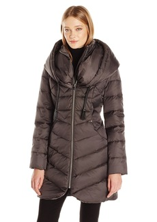 Via Spiga Women's Oversized Hood Down Coat