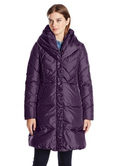 Via Spiga Women's Pillow Collar Down Coat