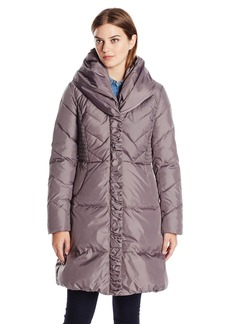 Via Spiga Women's Pillow Collar Down Coat