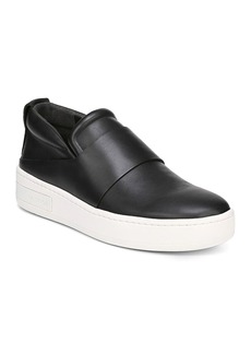 Via Spiga Women's Ryder Leather Slip-On Sneakers