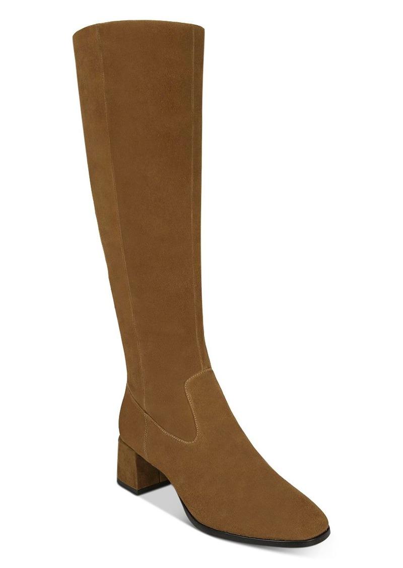 Via Spiga Women's Sanora Block Heel Tall Boots