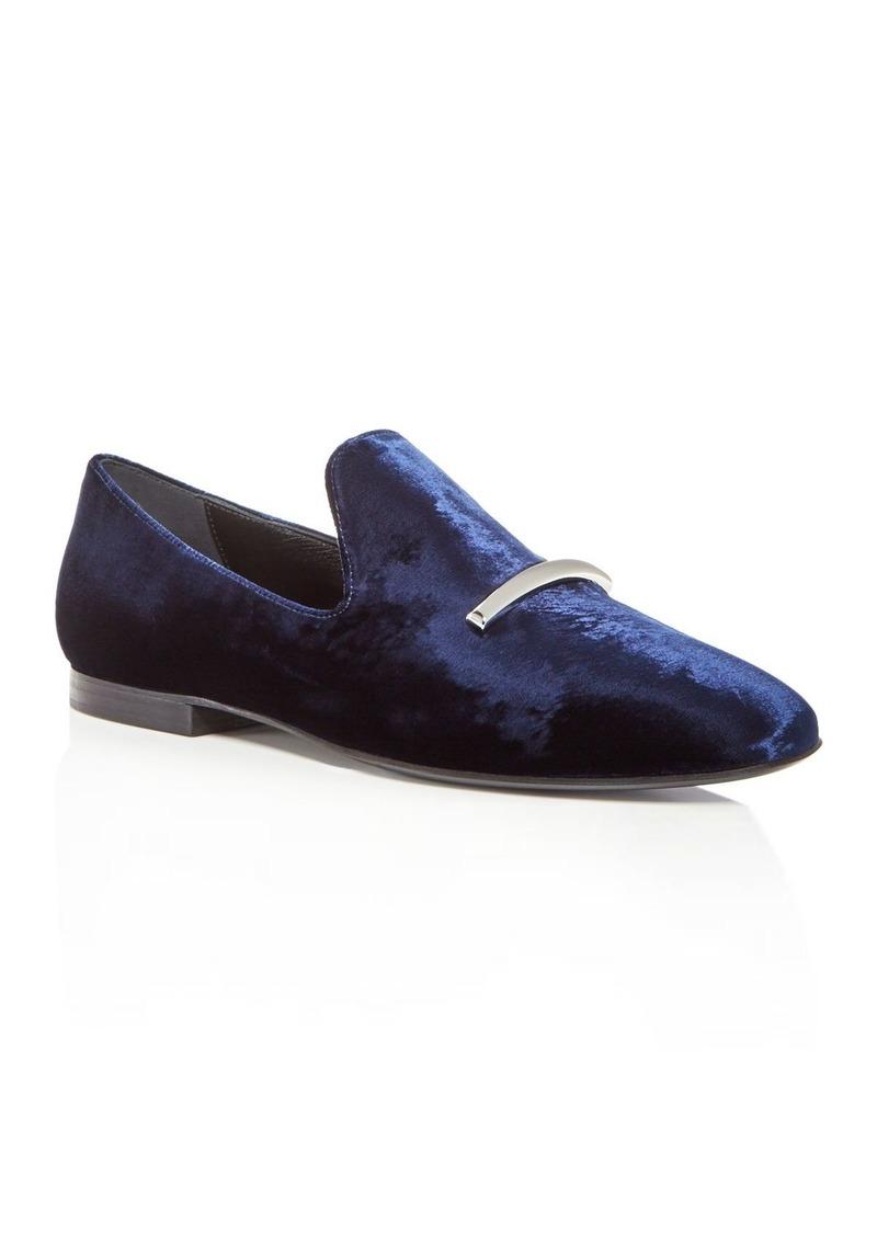 Via Spiga Women's Tallis Velvet Loafers - 100% Exclusive Hg35Fh