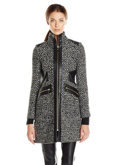 Via Spiga Women's Tweed Wool Coat