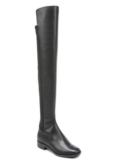 Via Spiga Women's Varun Leather & Stretch Over-the-Knee Boots